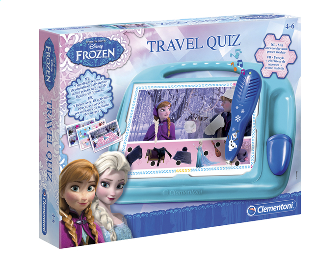 Image pour Travel Quiz Disney La Reine des Neiges à partir de ColliShop