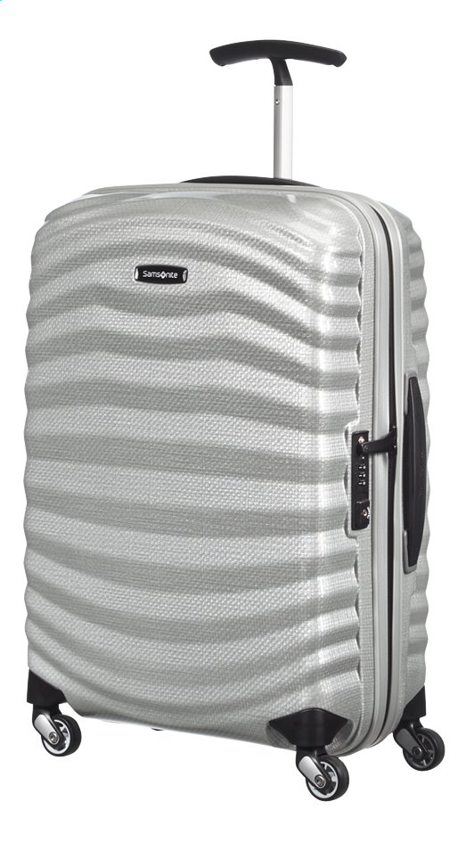 Afbeelding van Samsonite Harde reistrolley Lite-Shock Spinner silver from ColliShop