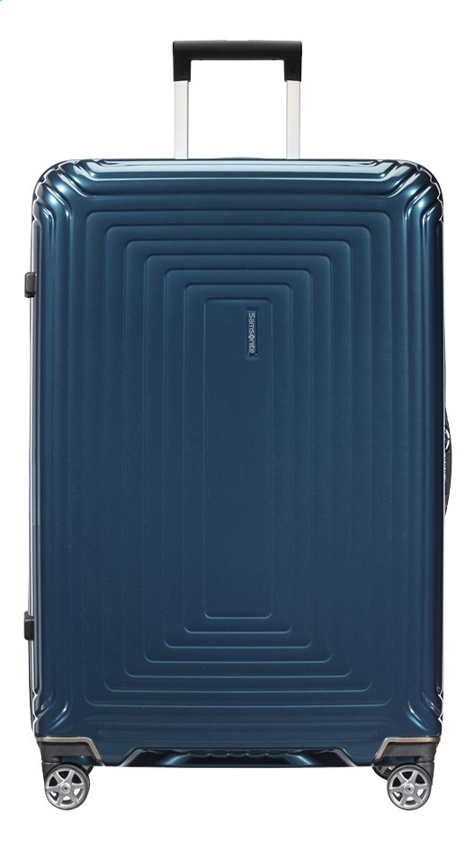 Afbeelding van Samsonite Harde reistrolley Neopulse Spinner metallic blue 81 cm from ColliShop