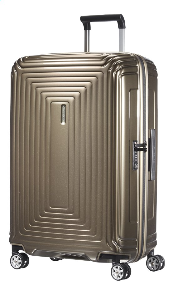 Afbeelding van Samsonite Harde reistrolley Neopulse Spinner metallic sand 69 cm from ColliShop