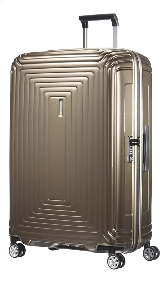 Afbeelding van Samsonite Harde reistrolley Neopulse Spinner metallic sand 81 cm from ColliShop