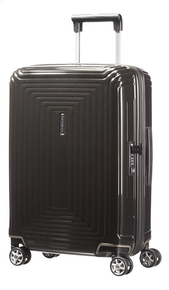 Afbeelding van Samsonite Harde reistrolley Neopulse Spinner metallic black 55 cm from ColliShop