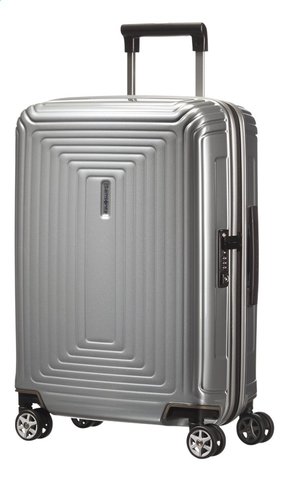 Afbeelding van Samsonite Harde reistrolley Neopulse Spinner metallic silver from ColliShop
