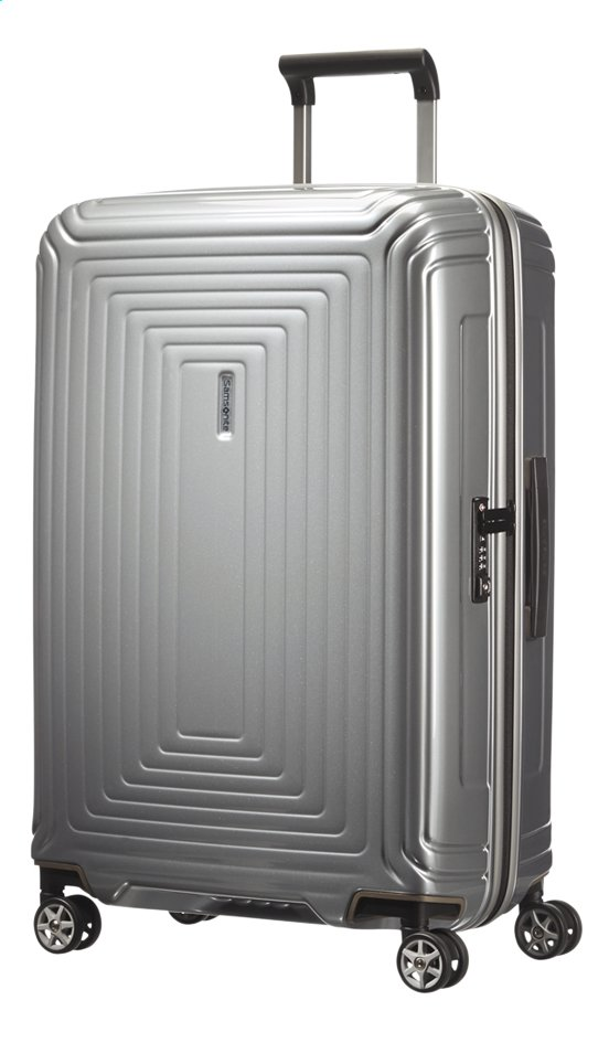 Afbeelding van Samsonite Harde reistrolley Neopulse Spinner metallic silver 69 cm from ColliShop