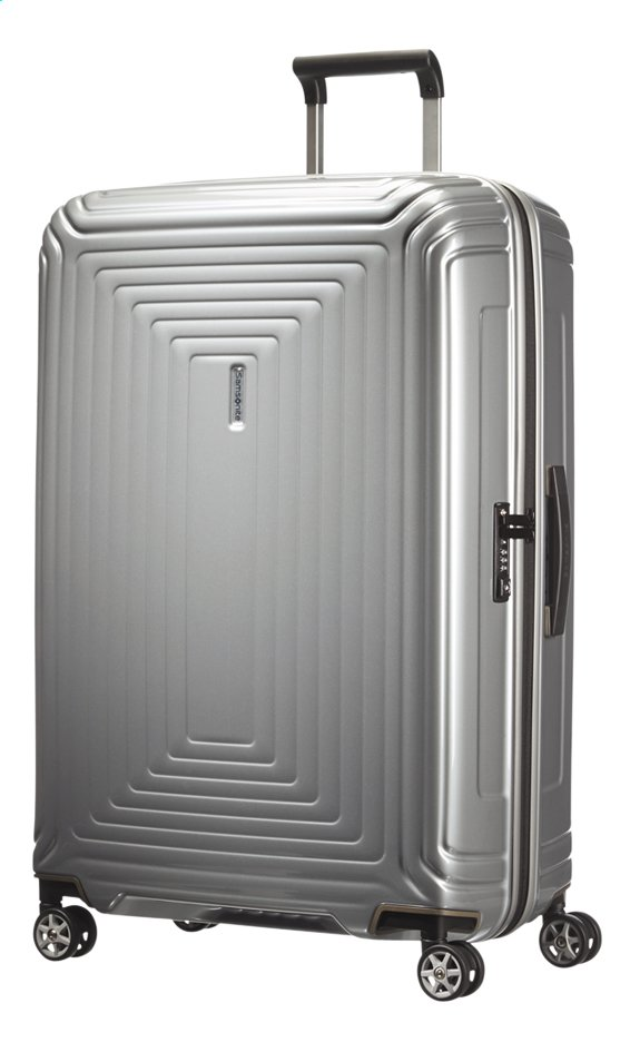 Image pour Samsonite Valise rigide Neopulse Spinner metallic silver 81 cm à partir de ColliShop