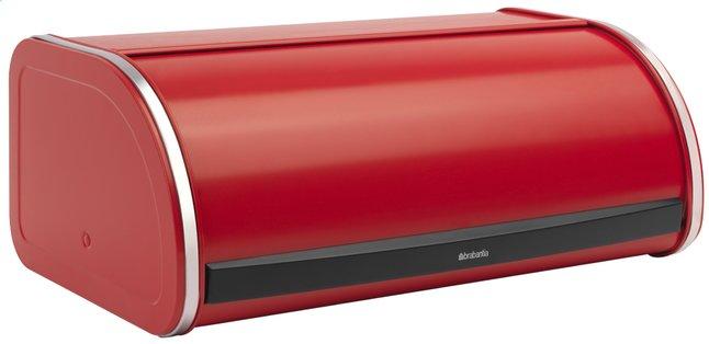 Afbeelding van Brabantia broodtrommel met schuifdeksel rood from ColliShop