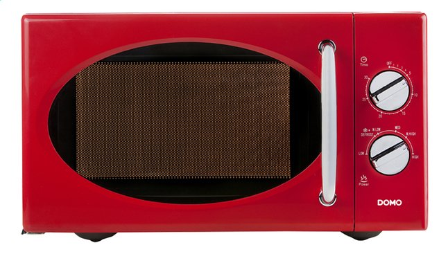 Badkamer Verwarming Domo : Domo microgolfoven do rood collishop