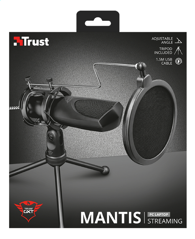 Afbeelding van Trust Microfoon GXT 232 Mantis Streaming from ColliShop