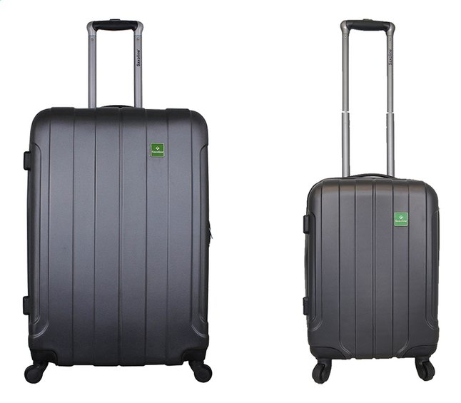 Saxoline set de 2 valises rigides anthracite