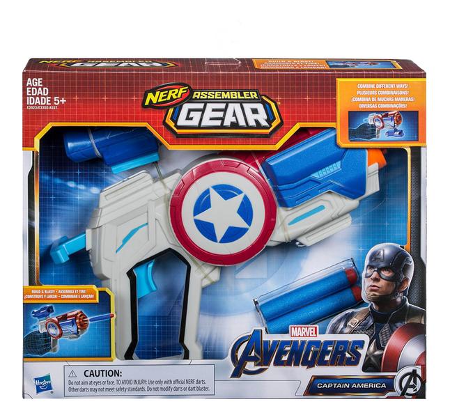 Image pour Nerf pistolet Avengers Assembler Gear Captain America à partir de ColliShop