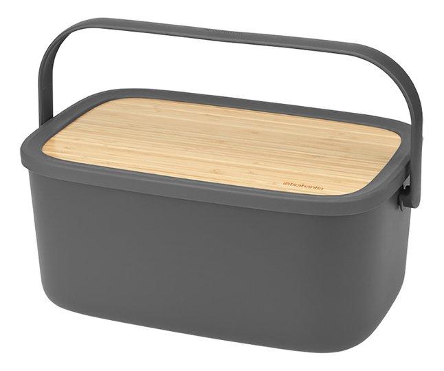 Image pour Brabantia Boîte à pain Nic gris foncé à partir de ColliShop