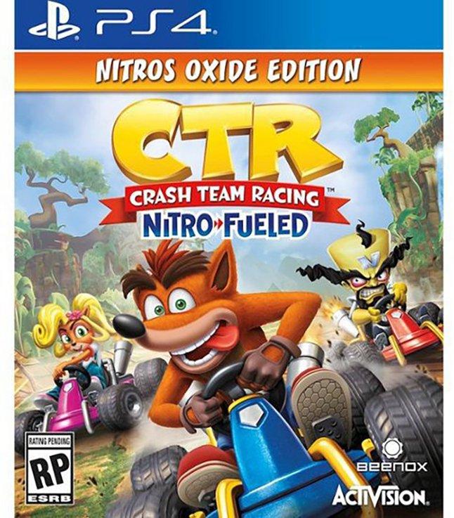 Image pour PS4 Crash Team Racing Nitro-Fueled - Nitros Oxide Edition ANG à partir de ColliShop