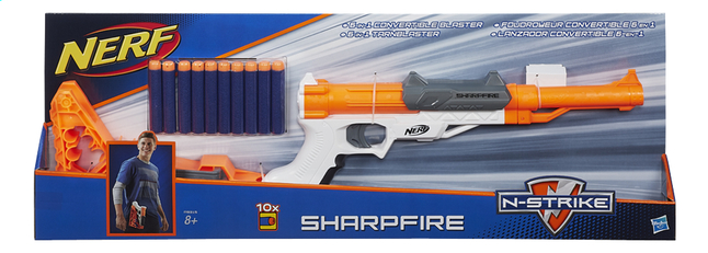 Afbeelding van Nerf N-Strike Elite blaster Sharpfire from ColliShop