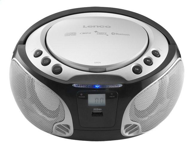 Lenco radio/lecteur CD portable SCD 550 argenté
