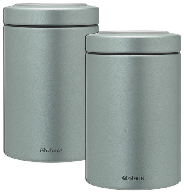 Image pour Brabantia 2 boîtes à provisions 1,4 l vert menthe à partir de ColliShop