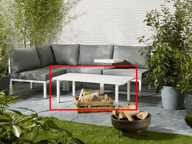 Image pour Table basse Selecta modulaire blanc à partir de ColliShop