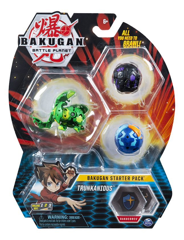 Bakugan Starter 3-Pack - Trunkanious