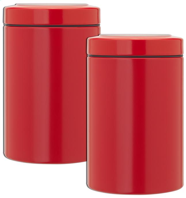Image pour Brabantia 2 boîtes à provisions 1,4 l rouge à partir de ColliShop
