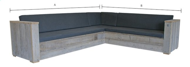 Afbeelding van Dutchwood loungeset Country 300 x 250 cm from ColliShop