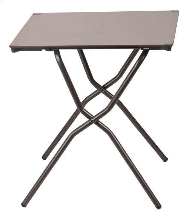 Image pour Lafuma Table pliante Anytime taupe L 64 x Lg 68 cm à partir de ColliShop
