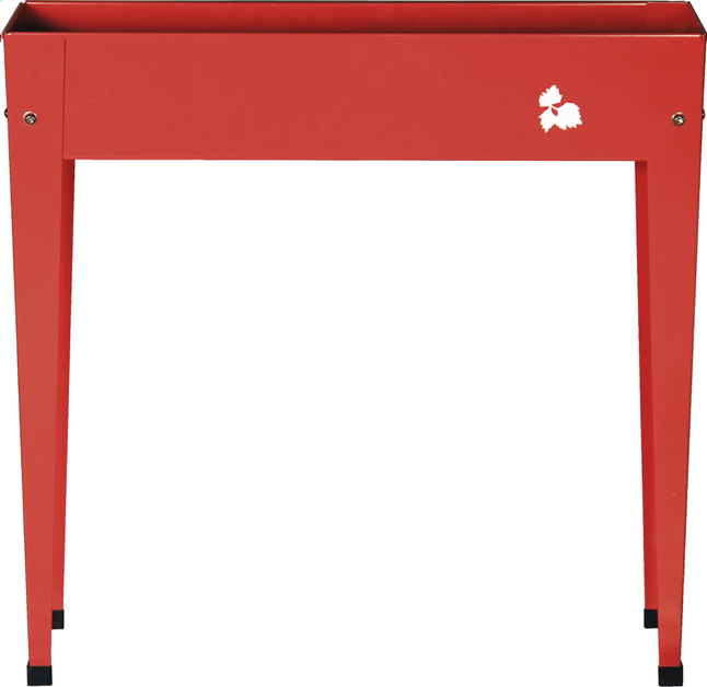 Image pour Table de rempotage Balcony rouge 80 x 20 cm à partir de ColliShop