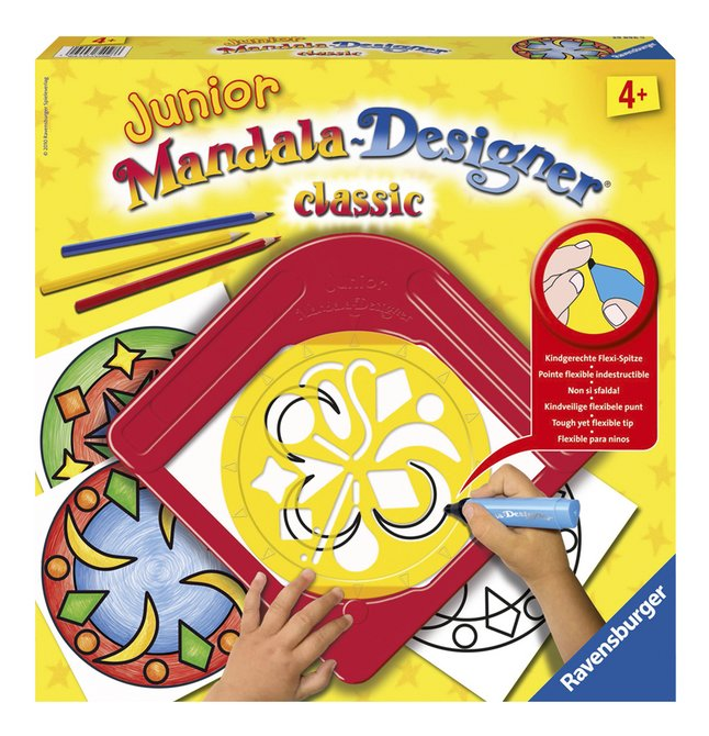 Afbeelding van Ravensburger Junior Mandala-Designer Classic from ColliShop