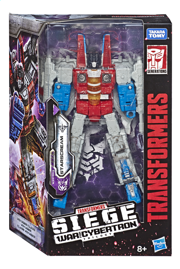 Image pour Transformers Siege robot War for Cybertron - Voyager Class - Starscream à partir de ColliShop