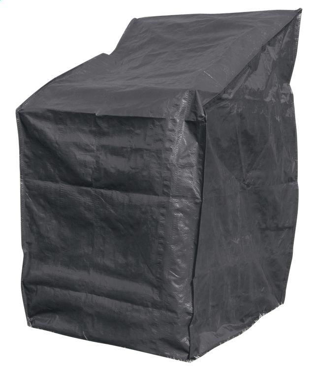 Afbeelding van Beschermhoes voor stapelstoelen polyethyleen (PE) L 66 x B 66 x H 128 cm from ColliShop