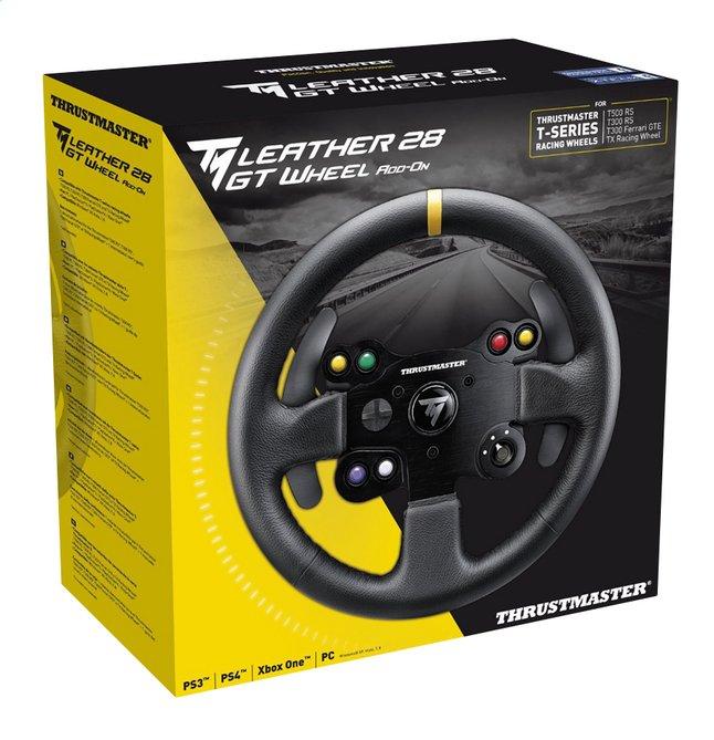 Image pour Thrustmaster roue add-on TM Leather 28 GT à partir de ColliShop