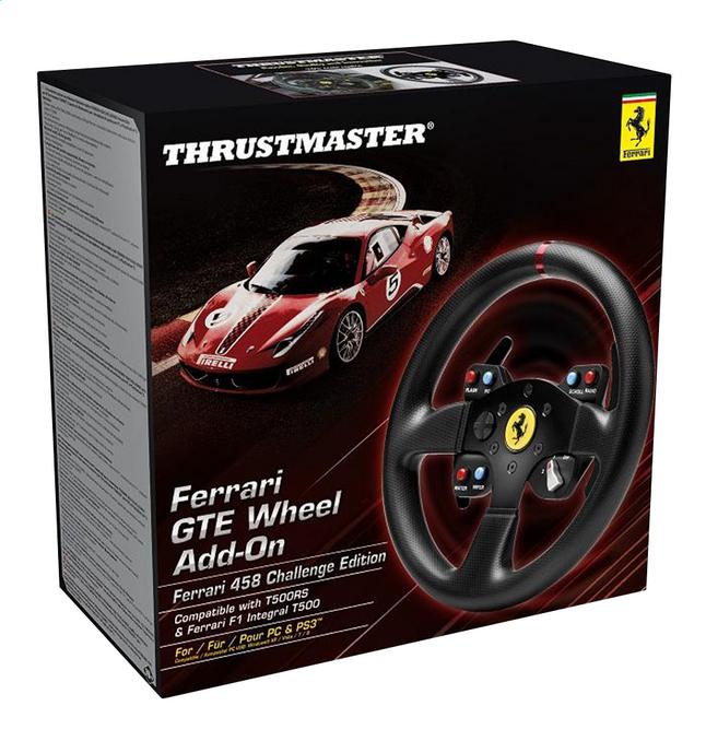 Image pour Thrustmaster roue add-on Ferrari F458 GTE noir à partir de ColliShop