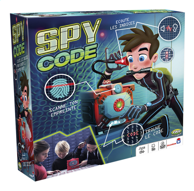Afbeelding van Spy Code FR from ColliShop