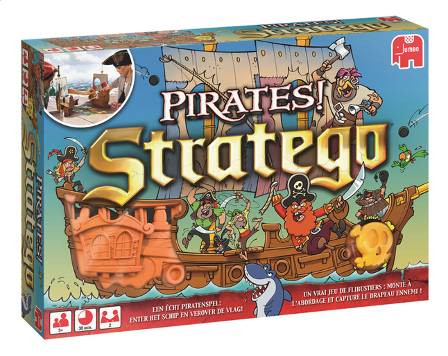 Afbeelding van Stratego Pirates! from ColliShop