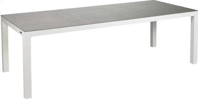 Image pour Table de jardin Maurs gris/blanc L 237 x Lg 99.5 cm à partir de ColliShop