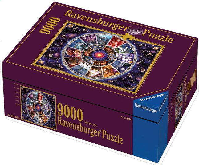 Afbeelding van Ravensburger puzzel Astrologie from ColliShop