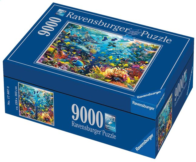 Image pour Ravensburger puzzle Paradis aquatique à partir de ColliShop