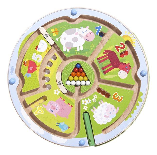 Afbeelding van HABA magneetspel Getallenlabyrint from ColliShop