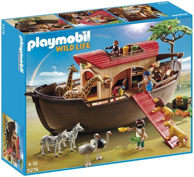Image pour Playmobil Wild Life 5276 Arche de Noé avec animaux de la savane à partir de ColliShop
