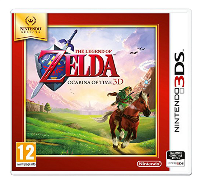 Afbeelding van Nintendo 3DS The Legend of Zelda: Ocarina of Time 3D FR from ColliShop
