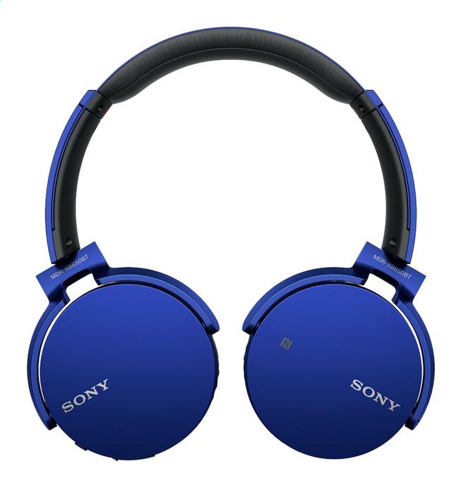 Image pour Sony casque Bluetooth MDR-XB650BT bleu à partir de ColliShop