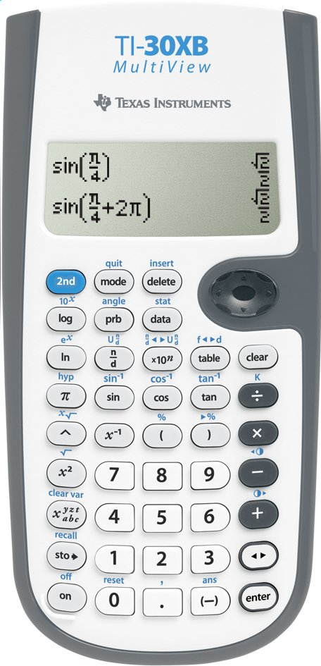 Image pour Texas Instruments calculatrice 30XB MultiView à partir de ColliShop