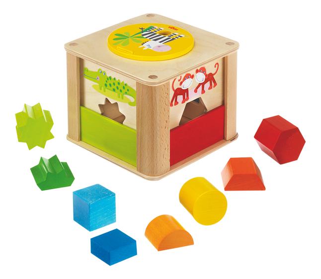 Image pour HABA Boîte à formes Les animaux du zoo à partir de ColliShop