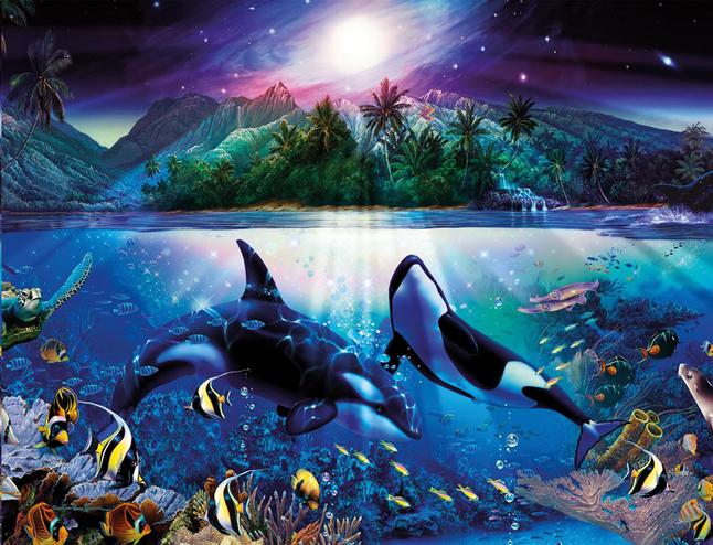 Afbeelding van Ravensburger puzzel Harmonieuze orka's from ColliShop