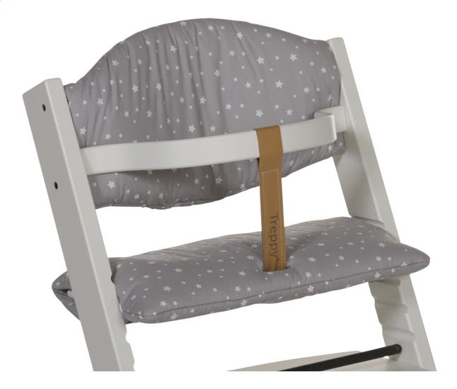 Afbeelding van Treppy Verkleinkussen voor eetstoel stars grey from ColliShop