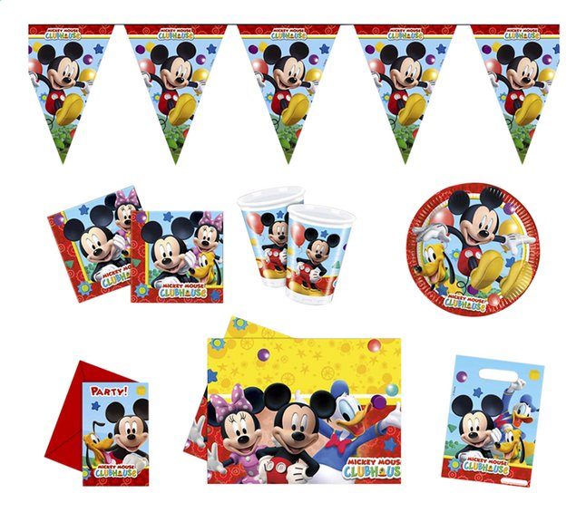 Afbeelding van Party set Mickey Mouse Clubhouse from ColliShop