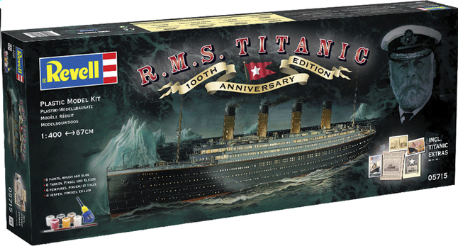 Afbeelding van Revell modelbouwdoos R.M.S. Titanic 100th Anniversary from ColliShop