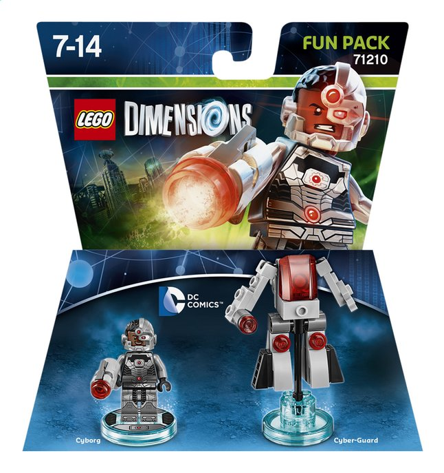 Afbeelding van LEGO Dimensions figuur Fun Pack DC Comics 71210 Cyborg from ColliShop