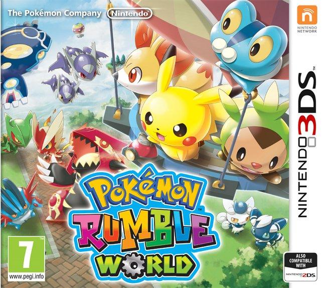 Afbeelding van Nintendo 3DS Pokémon Rumble World NL from ColliShop