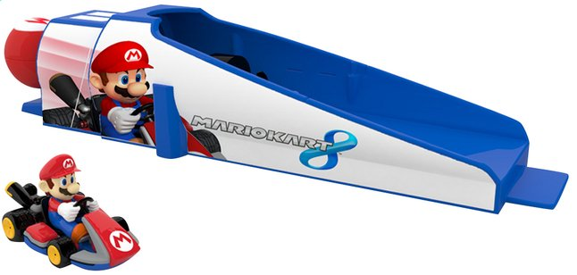 Afbeelding van Speelset Mario Kart Racer + Launcher Mario from ColliShop