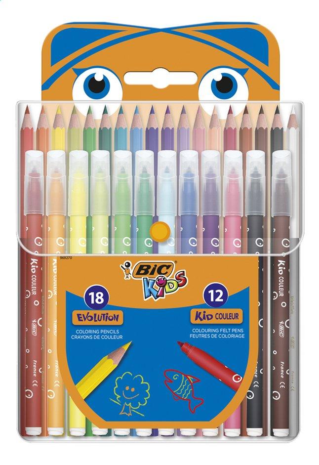 Image pour Bic Kids set de coloriage - 30 pièces à partir de ColliShop