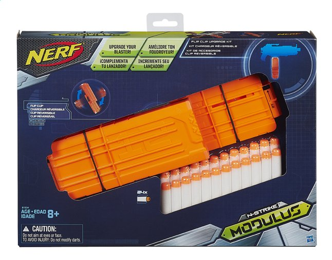 Afbeelding van Nerf set N-Strike Modulus Flip Clip Upgrade from ColliShop